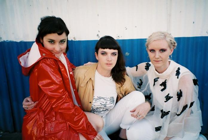 L to R: Chloe Baxter, Lena Molnar, Grace Stevenson. Credit: Chloe Alexandra